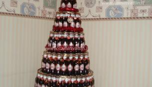 albero di natale birra peroni bari