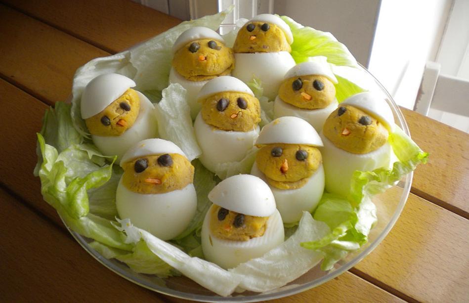 antipasto aperitivo uova farcite