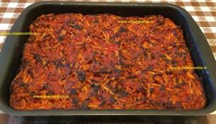 bucatini al forno alla pizzaiola bari