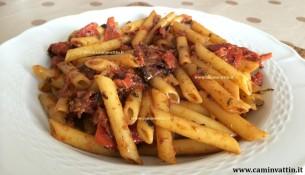 pasta con i pomodori al forno ricetta barese bari spagnetti penne