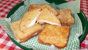 mozzarella in carrozza fritta fiordilatte barese