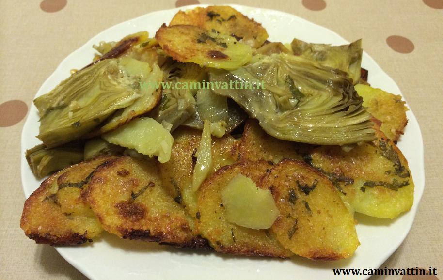 Conserve di zucchine patate carciofi for Carciofi ricette