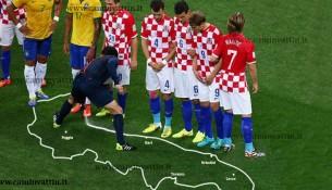bombolette spray usate dagli arbitri nei mondiali di calcio brasile 2014 fotomontaggio immagine divertente vignetta bari puglia