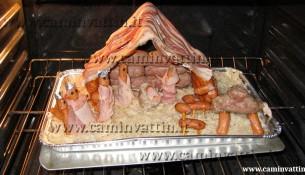 presepe natale christmas bacon salsiccia wurstel crauti pancetta barese