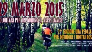 una pedalata per difendere i nostri boschi 2 edizione