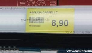 ASCIUGA CAPPELLE