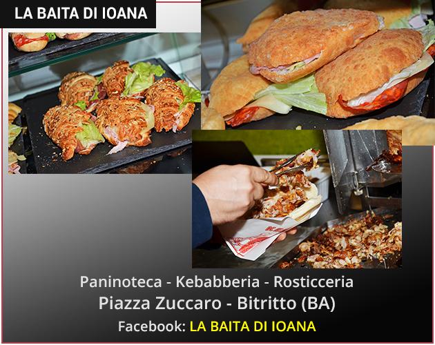 La Baita di Ioana - Rostirreria - Kebabberia - Paninoteca - Creperia a Bitritto