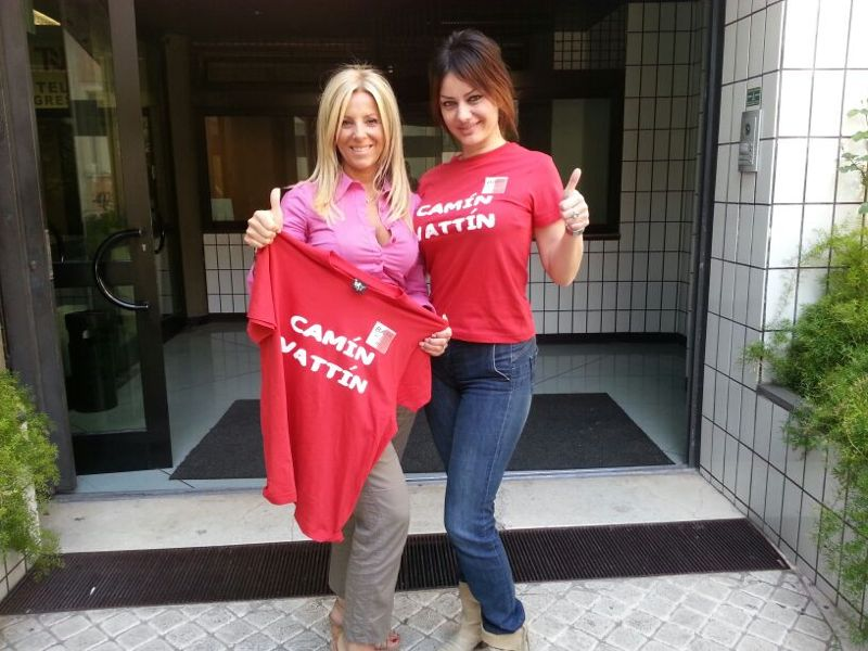 Daniela Mazzacane e Claudia Carbonara (Telenorba)