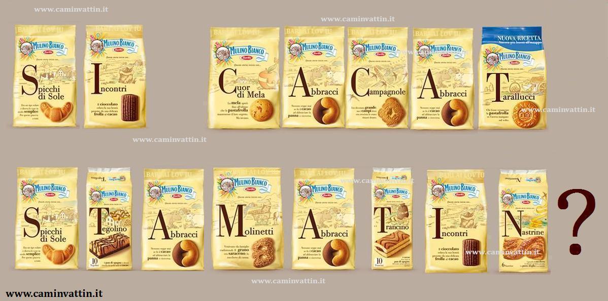 spesso Dillo con un biscotto - Camin Vattin OM69