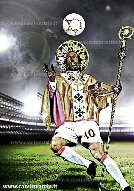 san nicola stadio bari statua santo patrono gianluca paparesta serie a serie b attaccante bomber goleador calciatore