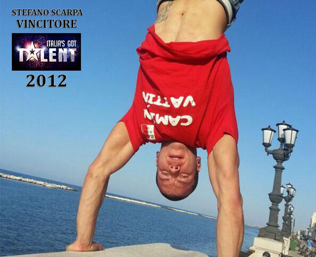 Stefano Scarpa Italia's Got Talent