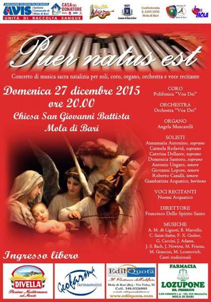 Puer Natus Est 27 Dicembre 2015 Chiesa Di San Giovanni