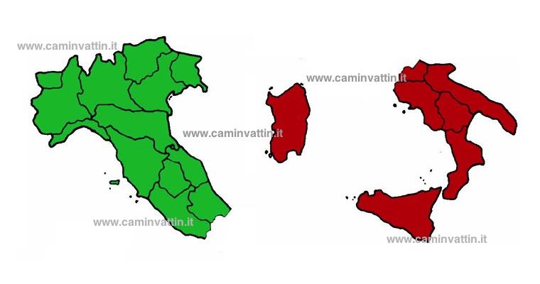 nord sud italia