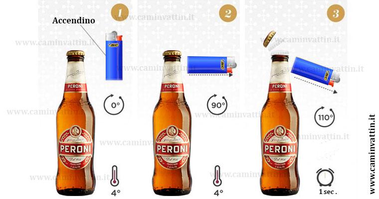 Come aprire una birra in caso di emergenza