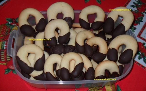 Ferri di cavallo al cioccolato