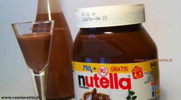 Liquore alla nutella (o nutellino)