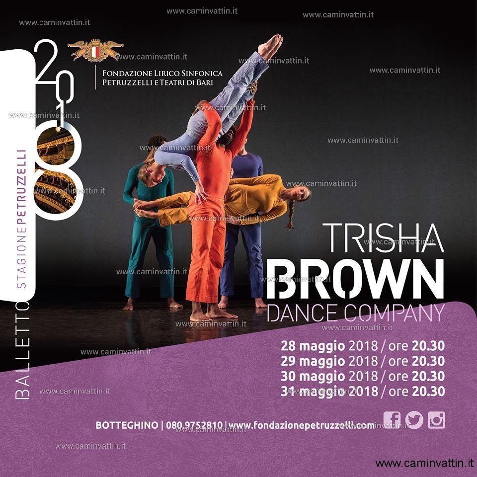 TRISHA BROWN DANCE COMPANY Teatro Petruzzelli