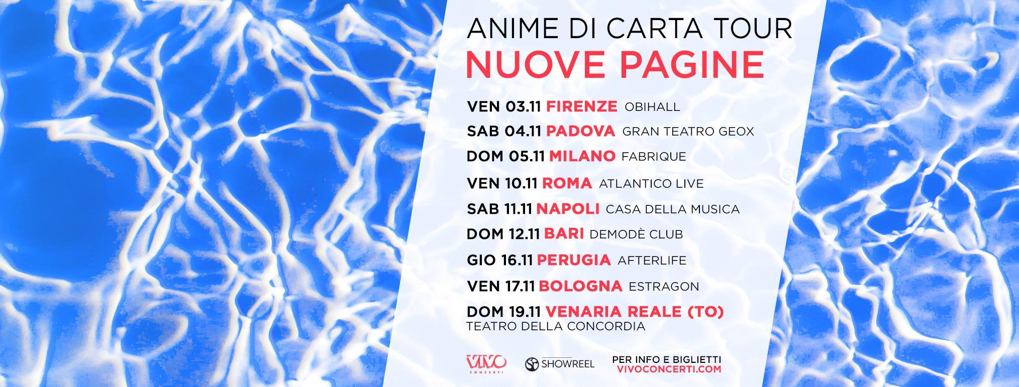 Casa Della Carta Padova michele bravi in concerto a bari – 12 novembre 2017 – demodè