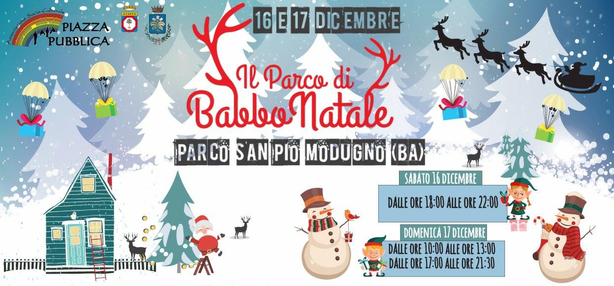 Parco Di Babbo Natale.Il Parco Di Babbo Natale A Modugno Camin Vattin