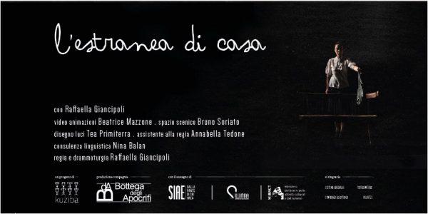 Kuziba Teatro L ESTRANEA DI CASA