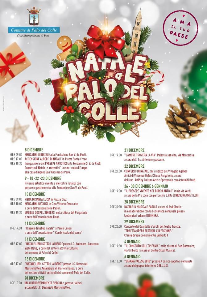 Eventi Natale.Natale A Palo Del Colle Il Calendario Completo Di Tutti Gli