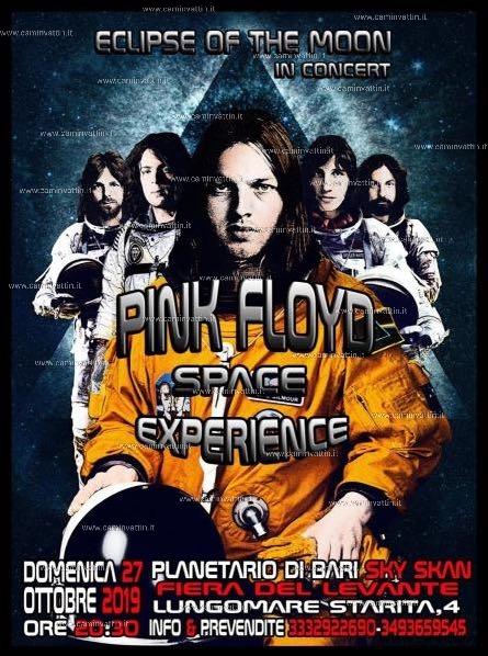 pink floyd cover band planetario bari