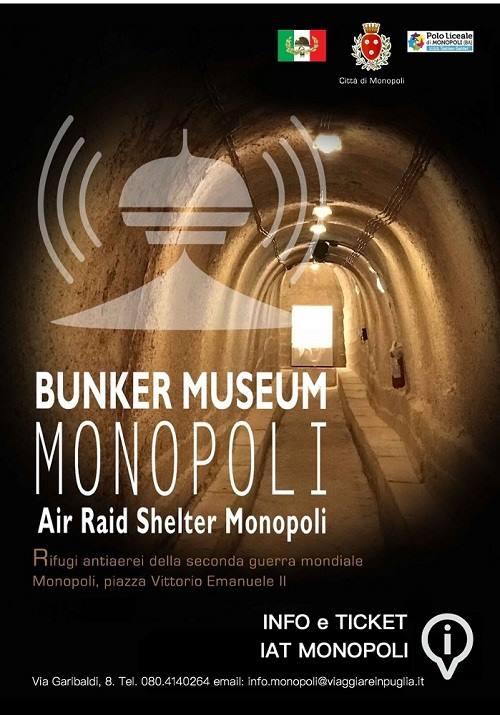 rifugi antiaerei monopoli visite guidate