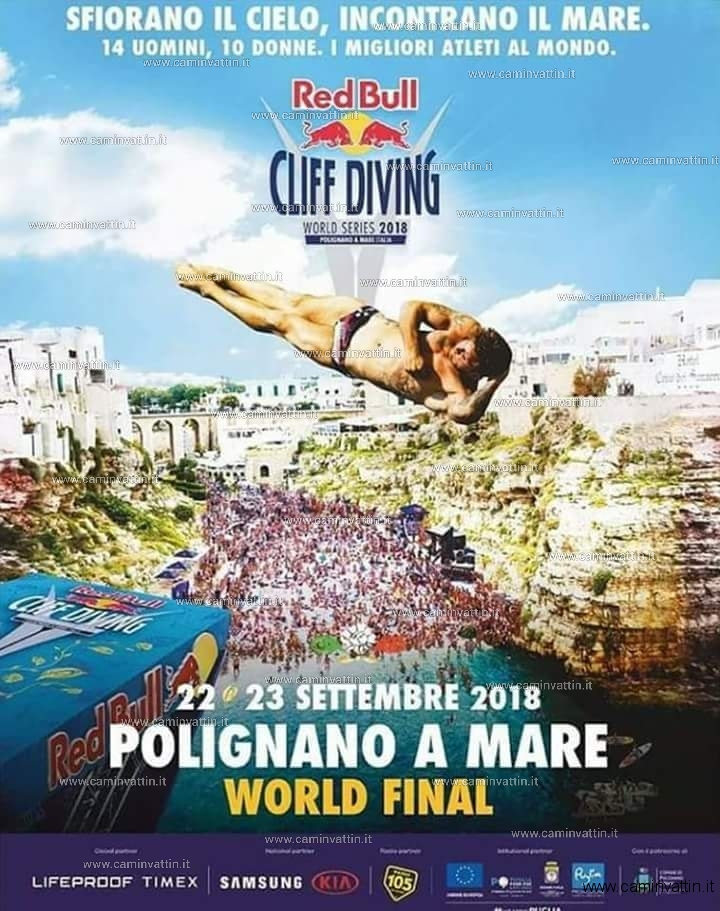 Red Bull Cliff Diving 2018 Polignano a Mare