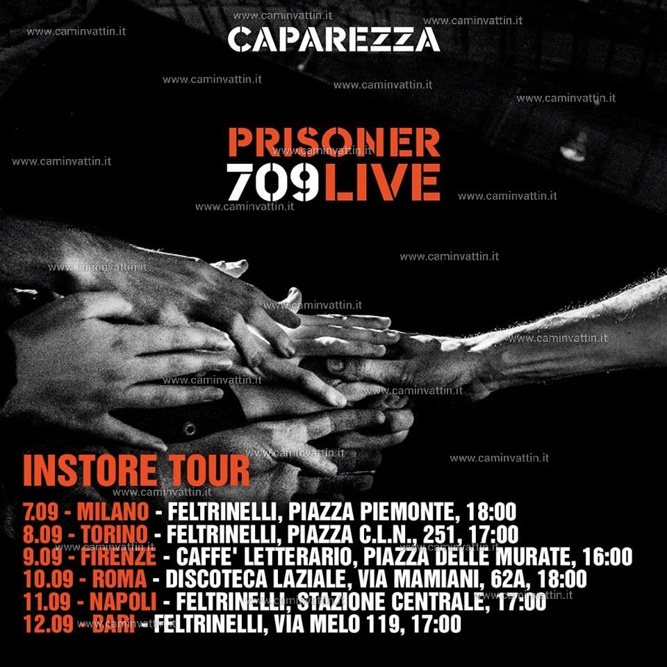 caparezza instore prisoner 709 live
