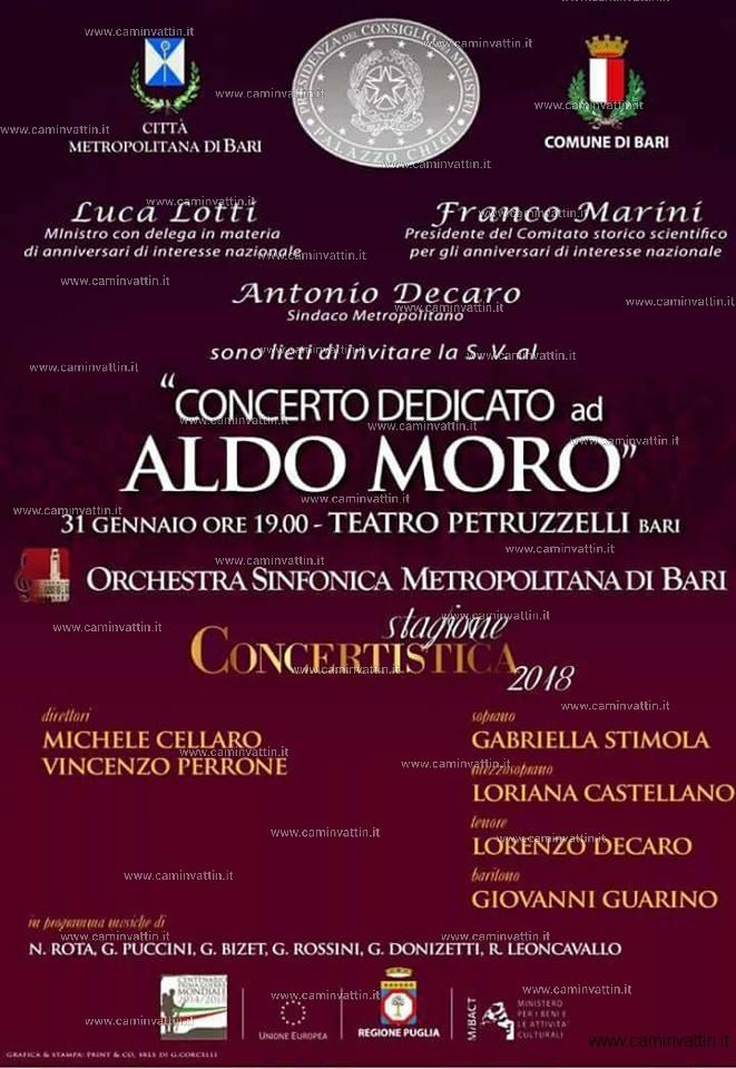 concerto dedicato ad aldo moro teatro petruzzelli orchestra sinfonica