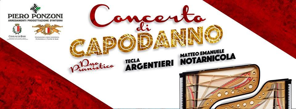 Concerto di capodanno al teatro petruzzelli 1 gennaio for Piero ponzoni arredamenti bari
