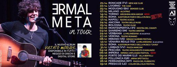 """ERMAL META in Concerto a Bari – Demodè Club """"Vietato morire"""" Tour f756e15efd9d"""