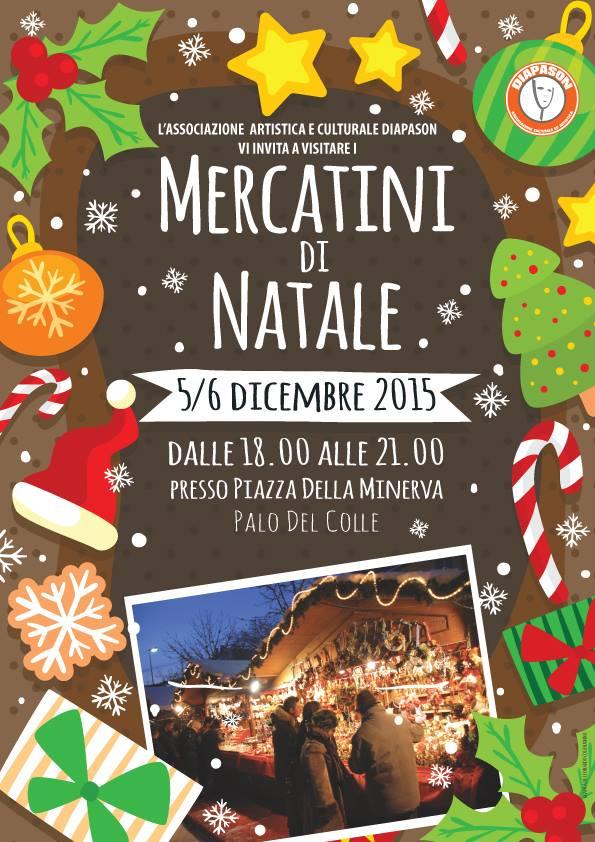 Mercatini di natale 5 e 6 dicembre 2015 piazza della for Mercatini di natale bari