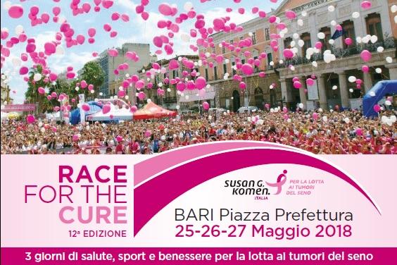 race for the cure bari 2018 komen italia