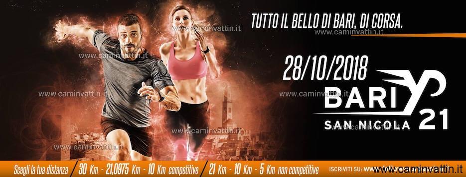 san nicola half marathon bari 21