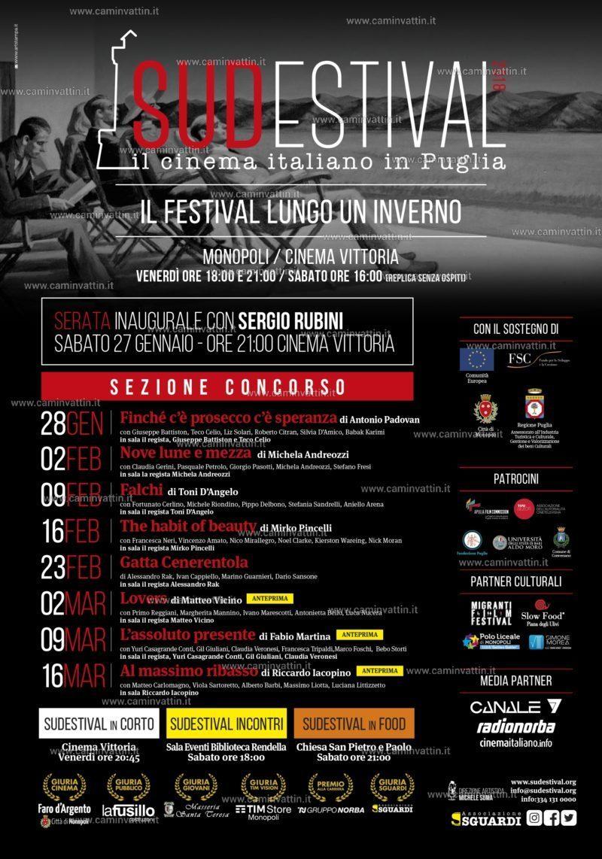 sudestival 2018 monopoli festival del cinema italiano locandina