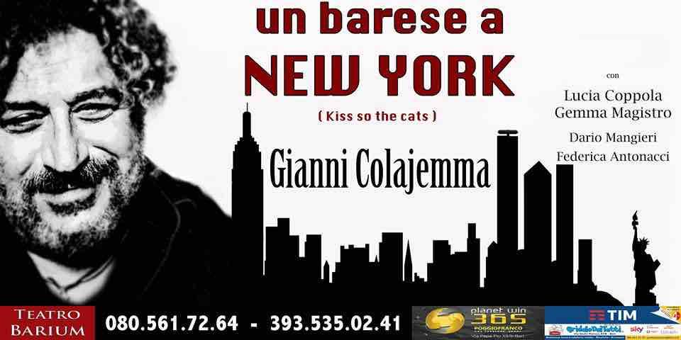 """Gianni Colajemma in """"Un barese a New York""""    ULTIMA REPLICA al Teatro  Barium    c76451aa1d8f"""