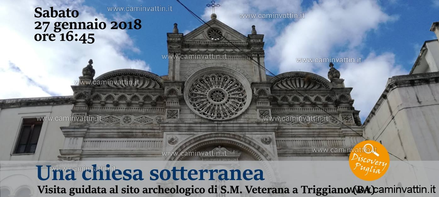 chiesa sotterranea santa Maria Veterana di Triggiano