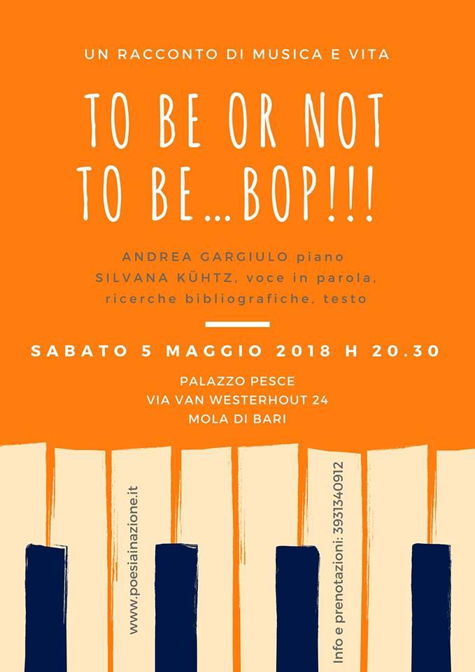 To Be or Not to Be Bop gargiulo kuhtz palazzo pesce