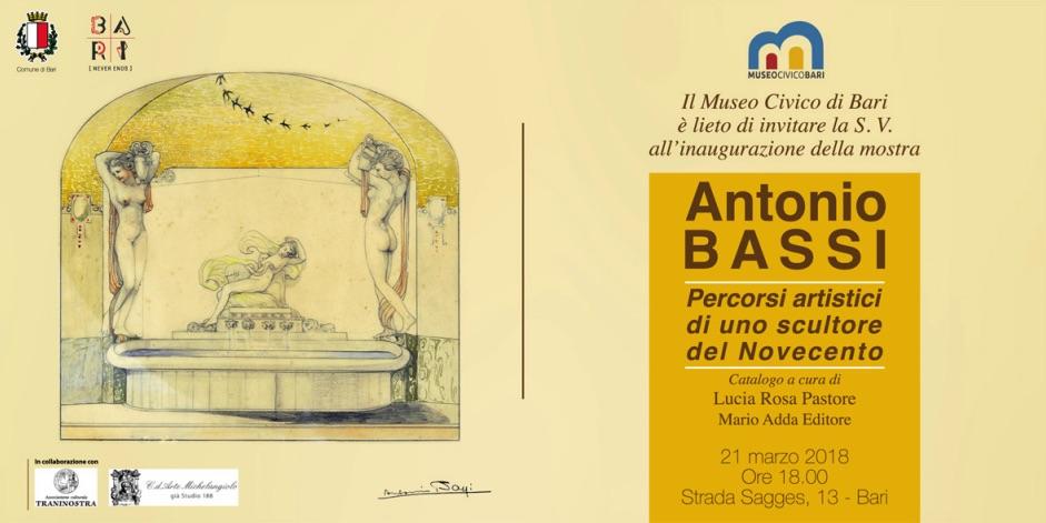 Antonio Bassi Percorsi artistici di uno scultore del Novecento