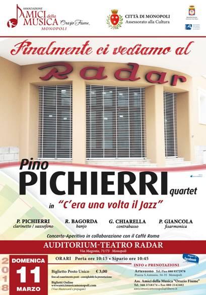 PINO PICHIERRI QUARTET al Teatro Radar
