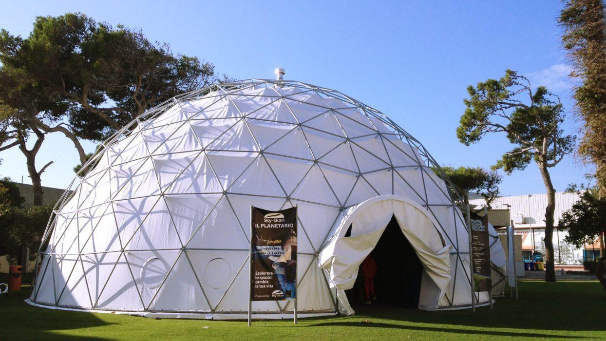 Programmazione settimanale del Planetario Sky Skan di Bari