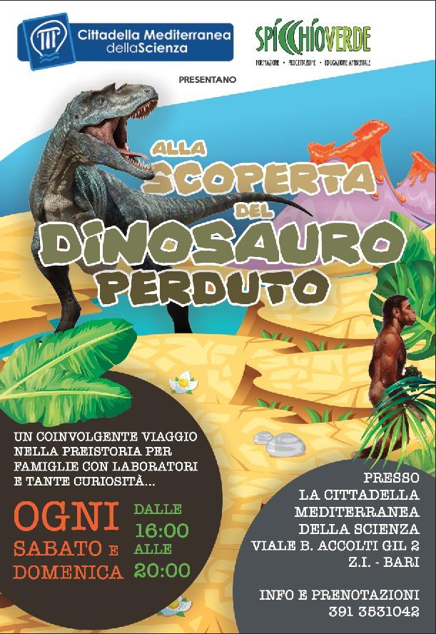 alla scoperta del dinosauro perduto