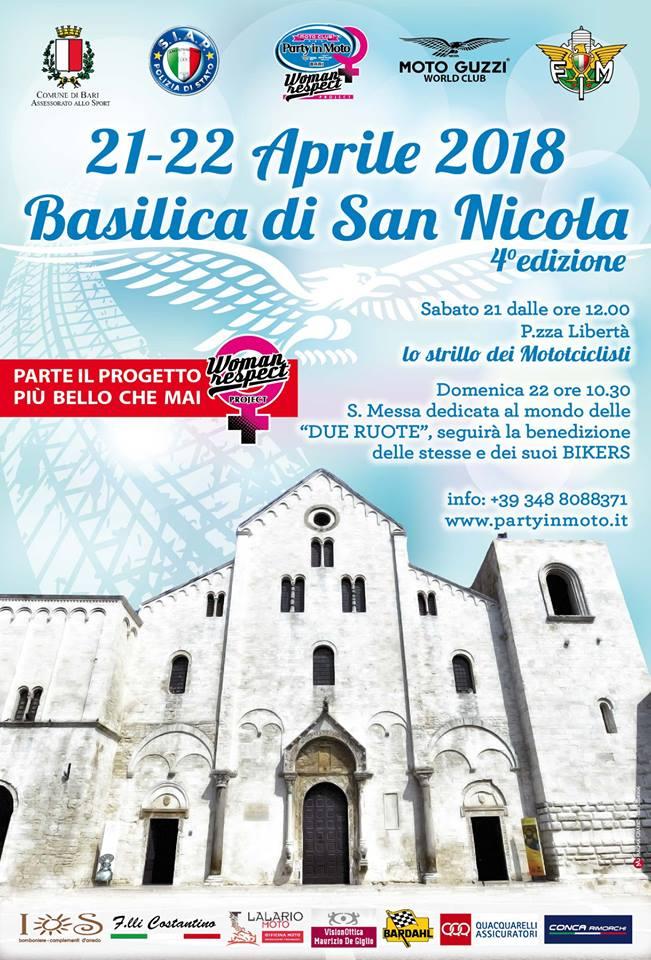 benedizione delle moto 2018 basilica di san nicola bari