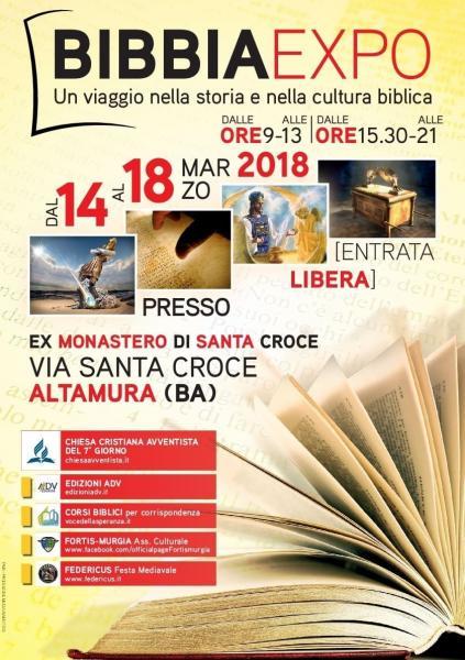 bibbia expo 2018 altamura
