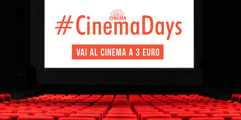 cinema days 2018 mibact