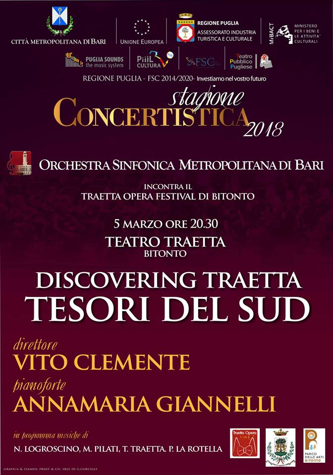 discovering traetta tesori del sud clemente giannelli bitonto