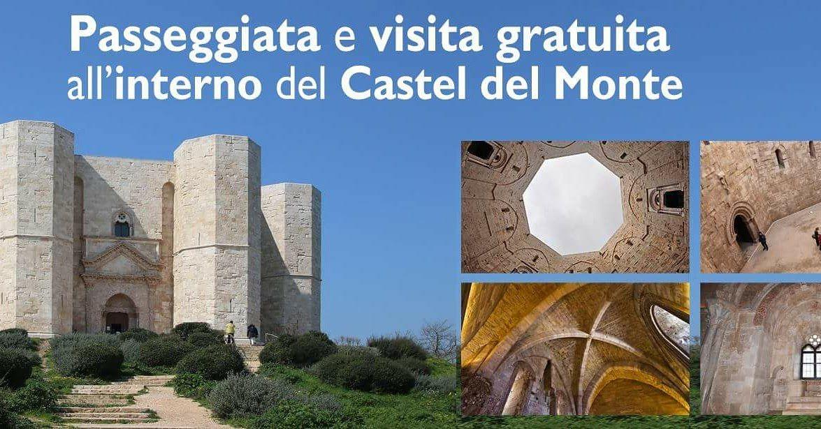 escursione con ingresso gratuito al castel del monte