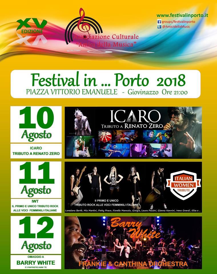 festival in porto 2018 giovinazzo