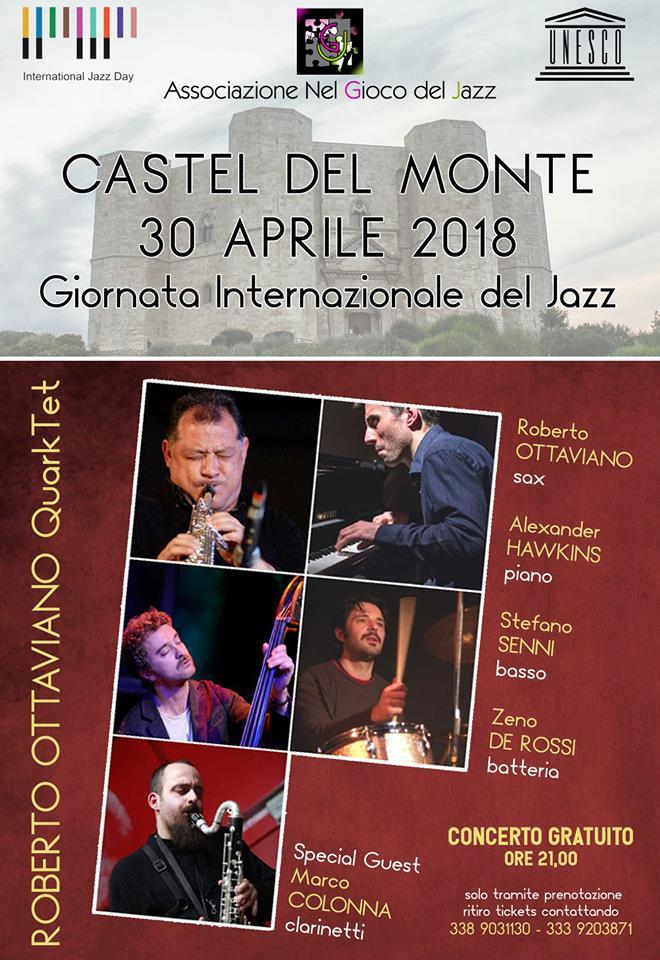 giornata internazionale del jazz castel del monte